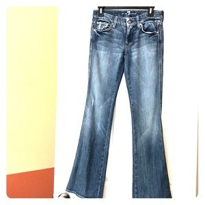 Brand new 7 for all mankind A pocket faded jeans